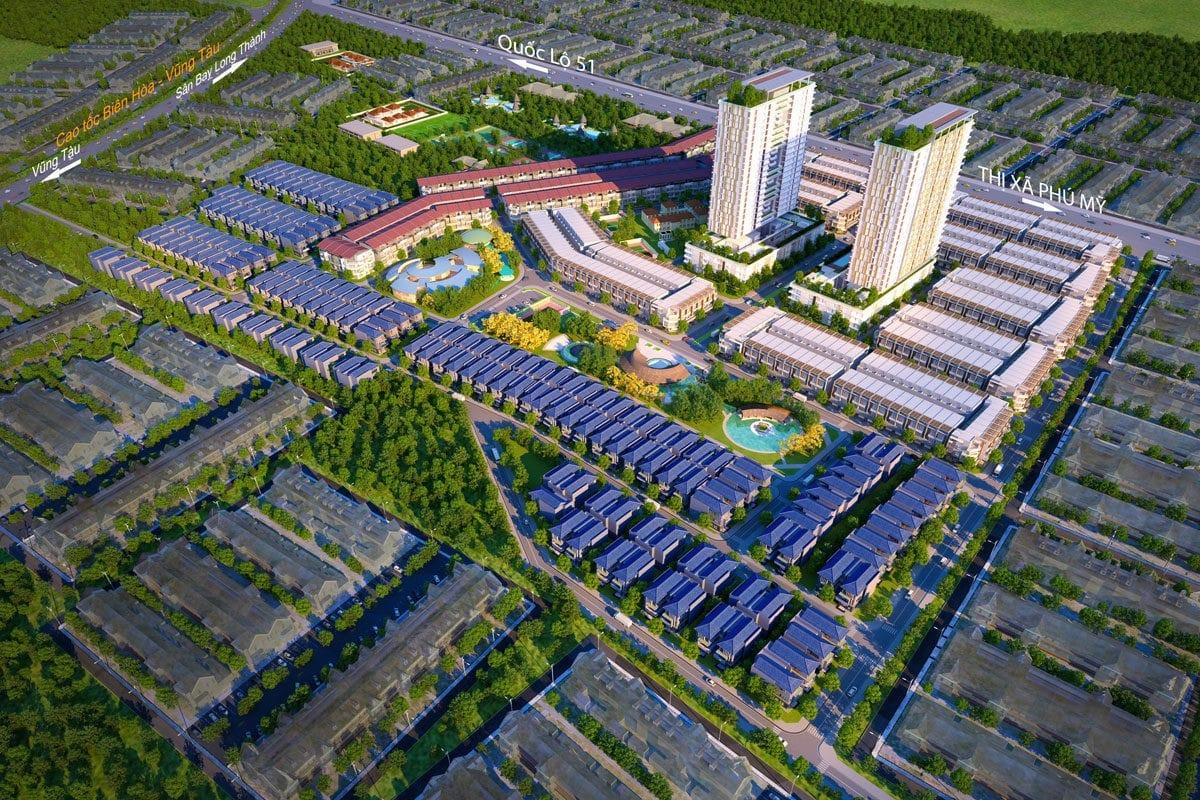 Danh sách các dự án Bất động sản tại Vũng Tàu - Thị trường BĐS Bà rịa - Vũng tàu