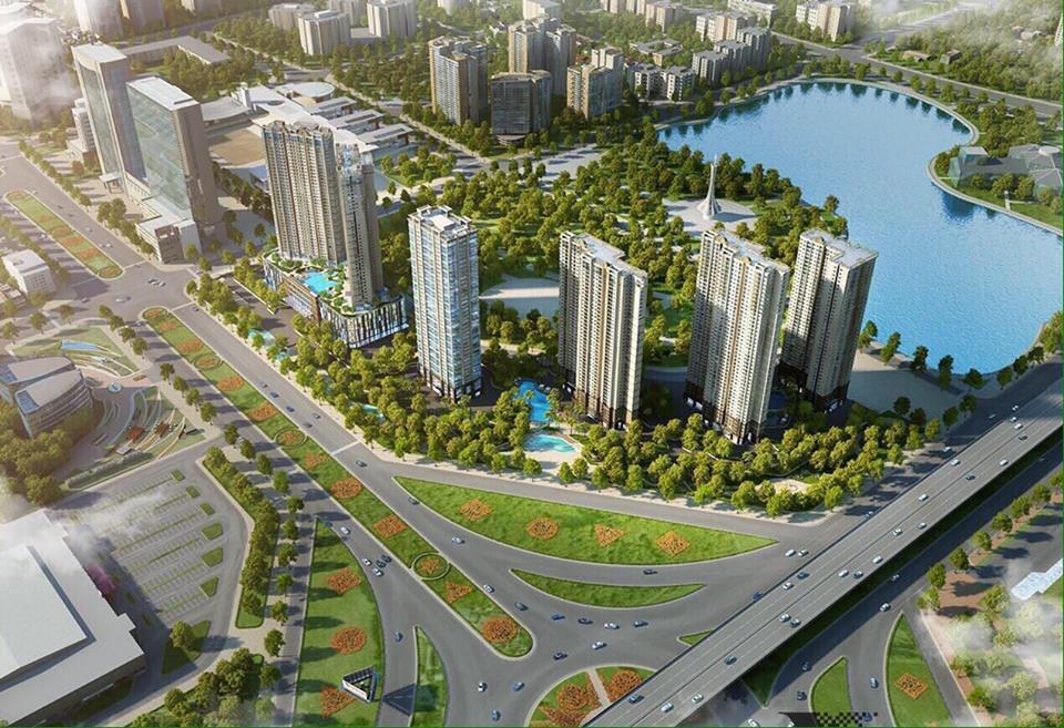 Tổng hợp 7 dự án bất động sản Quận Cầu giấy - Hà Nội