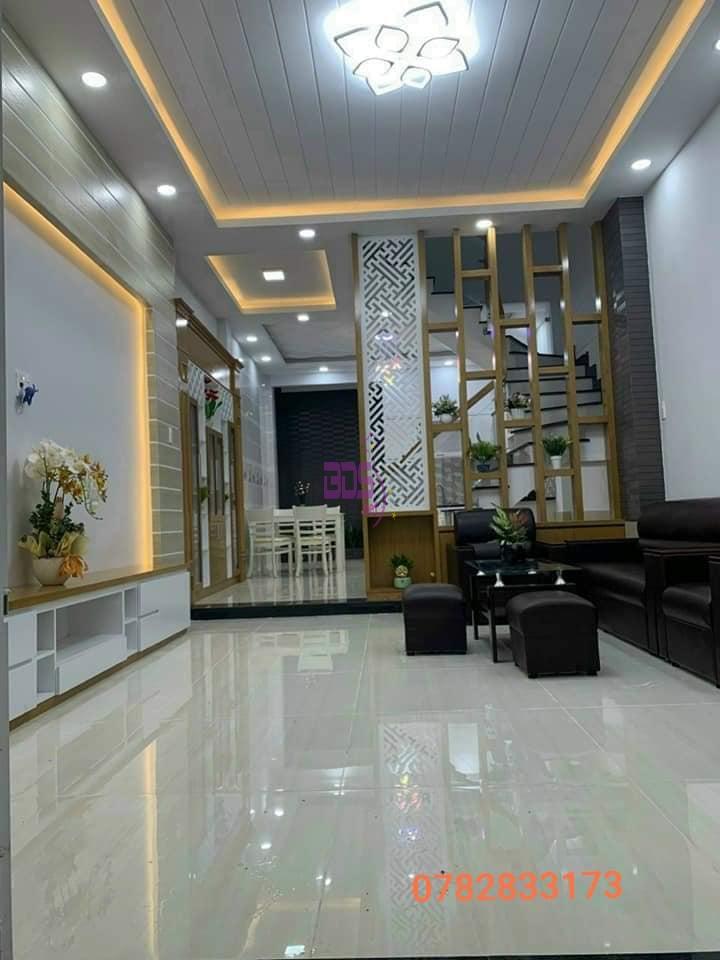 Tìm chủ cho căn nhà mới trệt lầu VIP, thiết kế hiện đại-1