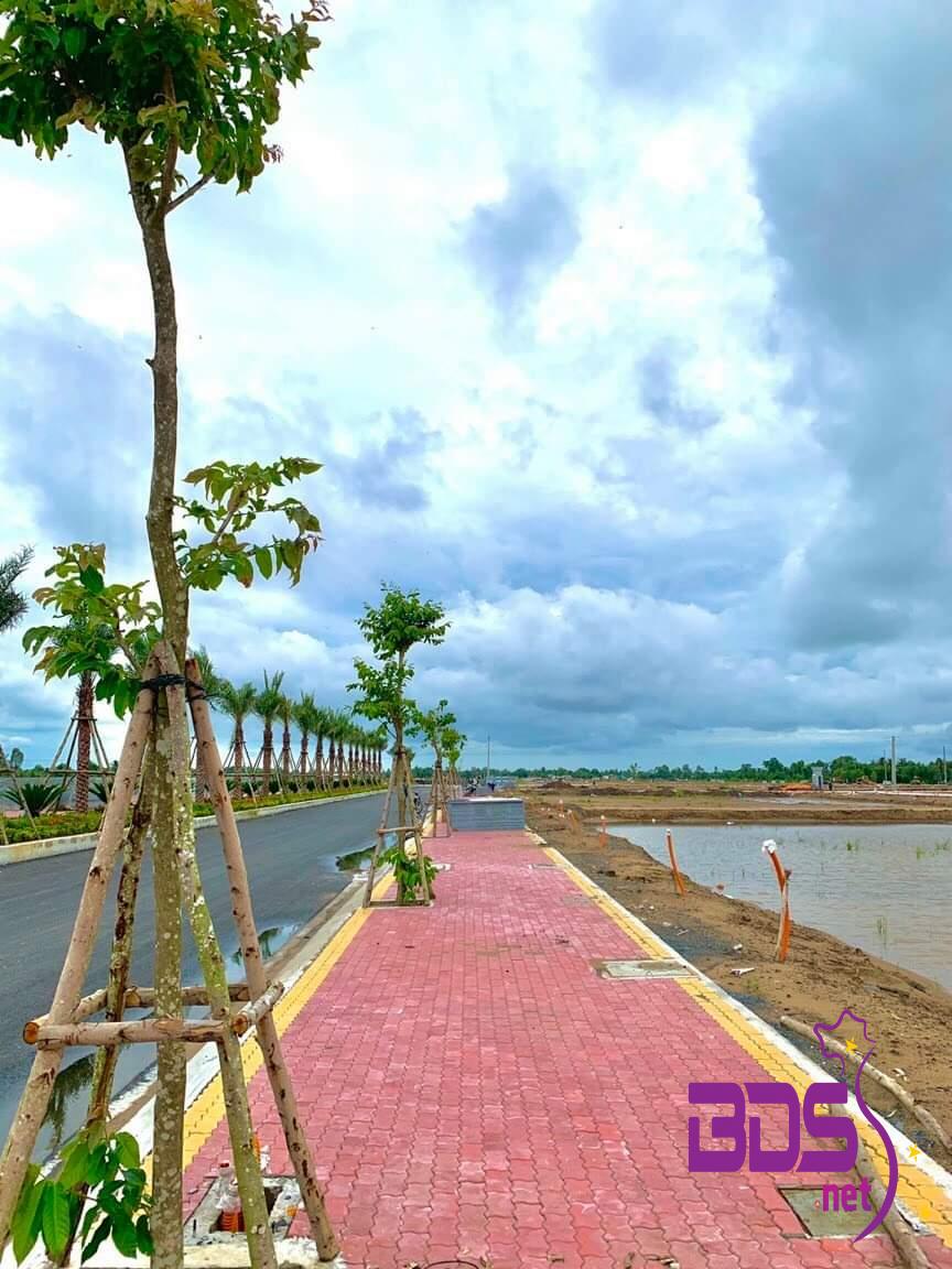 Đất nền trung tâm Thủ Thừa full thổ mua về xây gì cũng tiện-0