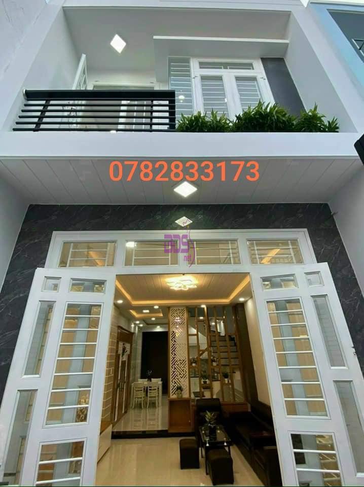 Tìm chủ cho căn nhà mới trệt lầu VIP, thiết kế hiện đại-0