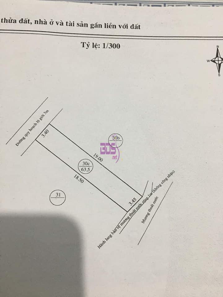 Giá hủy diệt bán nhanh căn nhà Quy Nhơn rộng 63.5m2 hướng Tây Bắc