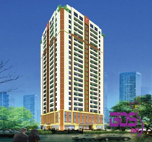 199 Cowa Tower - Tòa nhà kết hợp giữa thương mại và nhà ở cao tầng tại Hà Nội