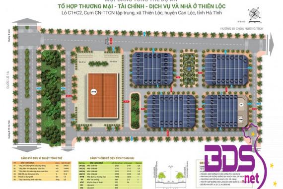 """KĐT Thiên Lộc Complex - Khu phức hợp thu hút đầu tư """"Nóng"""" nhất huyện Can Lộc"""