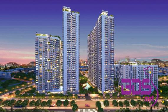 The Western Capital -  Thiết kế tinh tế không gian căn hộ tại TP HCM