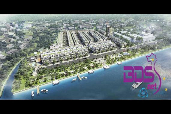 The Pearl Riverside - Khu đô thị nằm tiếp giáp với con Sông Vàm Cỏ Đông
