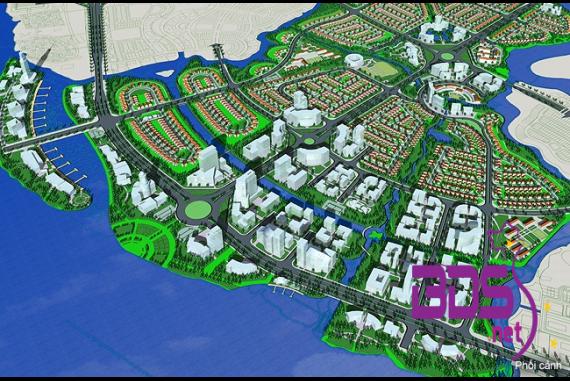 Khu đô thị Waterfront - Khu phức hợp trung tâm giải trí, thương mại dịch vụ cao cấp