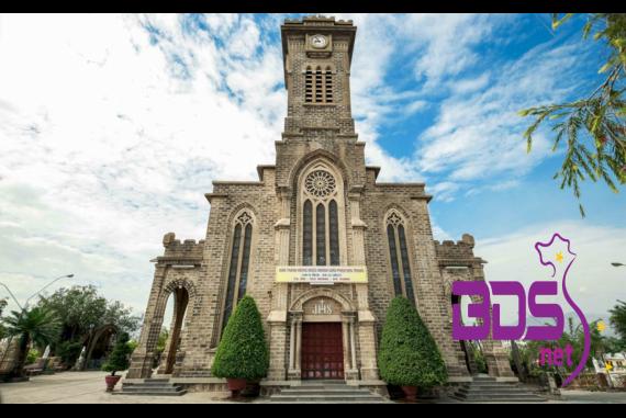 Nhà thờ đá Nha Trang - Biểu tượng mang phong cách đậm kiến trúc Pháp