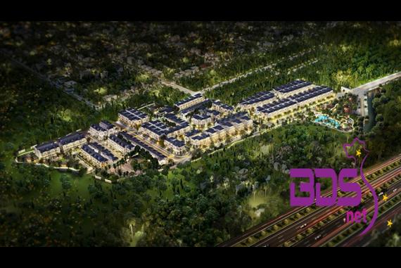 Verosa Park Khang Điền - Nhà phố, biệt thự thiết kế mang phong cách Ý Tân cổ điển