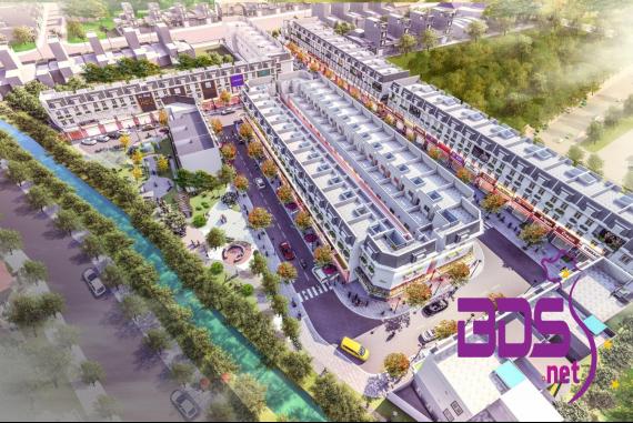 Đại Phát Mall Town - Dự án nhà phố thương mại thông minh tại Bình Dương