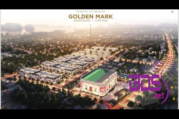 Golden Mark Shophouse - Thiết kế mang đậm phong cách Châu  Âu tại Cẩm Phả