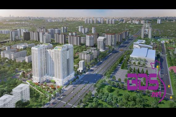 Chung cư Florence Mỹ Đình - Miền đất hứa với kiến trúc tuyệt đẹp tại trung tâm TP Hà Nội