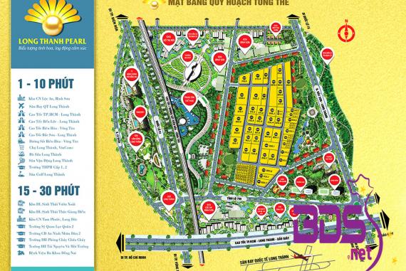 Long Thành Pearl - Khu dân cư nằm trên trục đường chính sân bay Long Thành