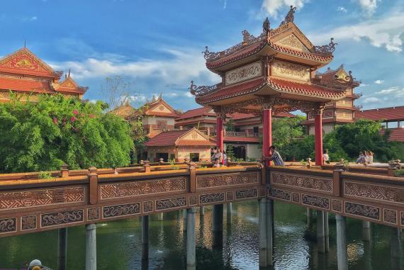 Chùa Nam Sơn - Chùa đẹp ở Đà Nẵng sẽ khiến bạn không khỏi xuýt xoa ngay lần đầu bước chân ghé đến