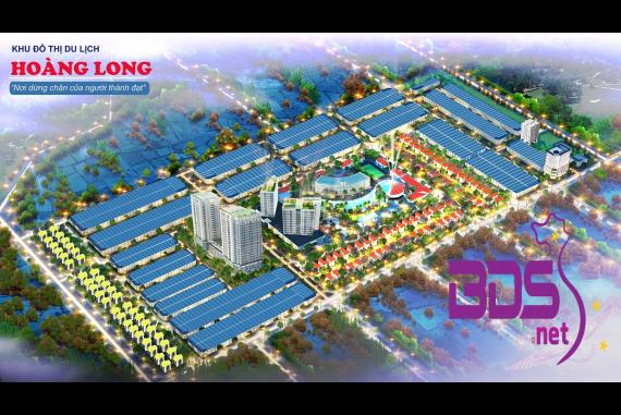 Hoàng Long - Khu đô thị trải dài theo dòng sông Trường Quán mộng mơ