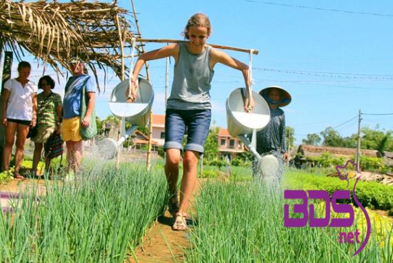 """Làng rau Trà Quế (Tra Que Vegetable Village) - Điểm """"đi trốn"""" cho những ai muốn tìm về với bình yên"""