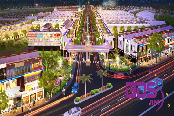 Hana Garden Mall - Dự án sở hữu vị trí vô cùng đắc địa thuận lợi