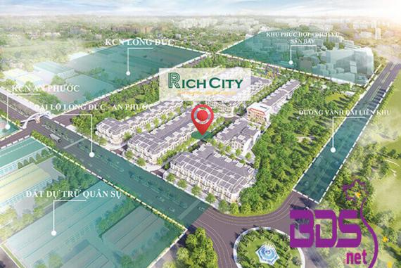 Rich City - Sở hữu vị trí đắc địa giữa lòng trung tâm TP sân bay