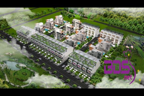 68 Long Điền Town House - Khu dân cư nằm trong tiềm năng phát triển kinh tế vùng