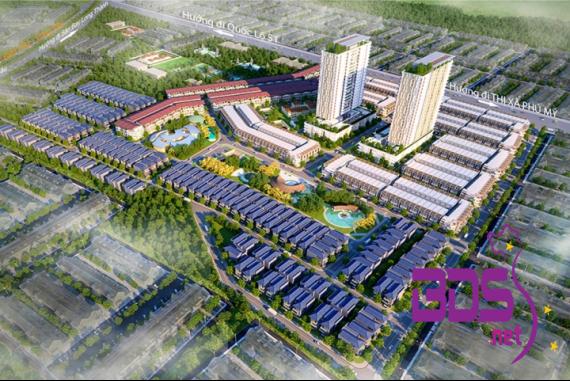 Phú Mỹ Gold Villas - Khu đô thị xanh nằm ngay trung tâm Thành phố Cảng Phú Mỹ
