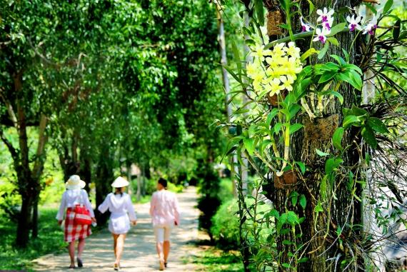 Suối Hoa Lan - Nơi lưu giữ những dấu tích của người Chăm từ thuở xa xưa