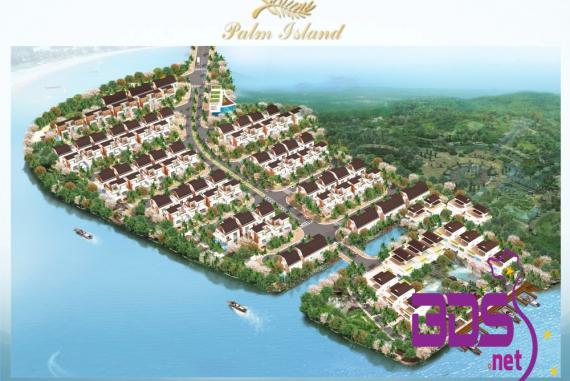 Palm Island - Khu biệt thự bên sông tại Nhơn Trạch