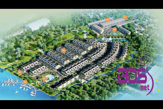 Trần Anh Riverside - Dự án trung tâm đô thị mới với tiện ích sinh thái tại Long An
