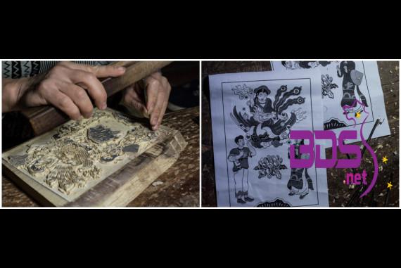 Làng tranh Đông Hồ - Cái nôi tinh hoa nghệ thuật tranh giấy gió được lưu truyền và bảo tồn