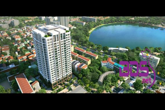 Platinum Residences - Dự án nổi bật với tầm view đắt giá nhìn ra hồ Ngọc Khánh