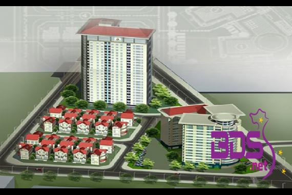 Intracom 1 Trung Văn - Kiến trúc nhà có hạ tầng kỹ thuật và xã hội cao cấp
