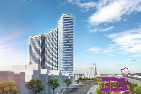 Intracom Riverside - Cự án nhà ở cao tầng, kế bên cầu Nhật Tân