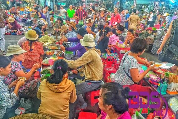 Chợ Cồn (Con Market) - Trung tâm mua sắm và ẩm thực lớn nhất Đà Nẵng