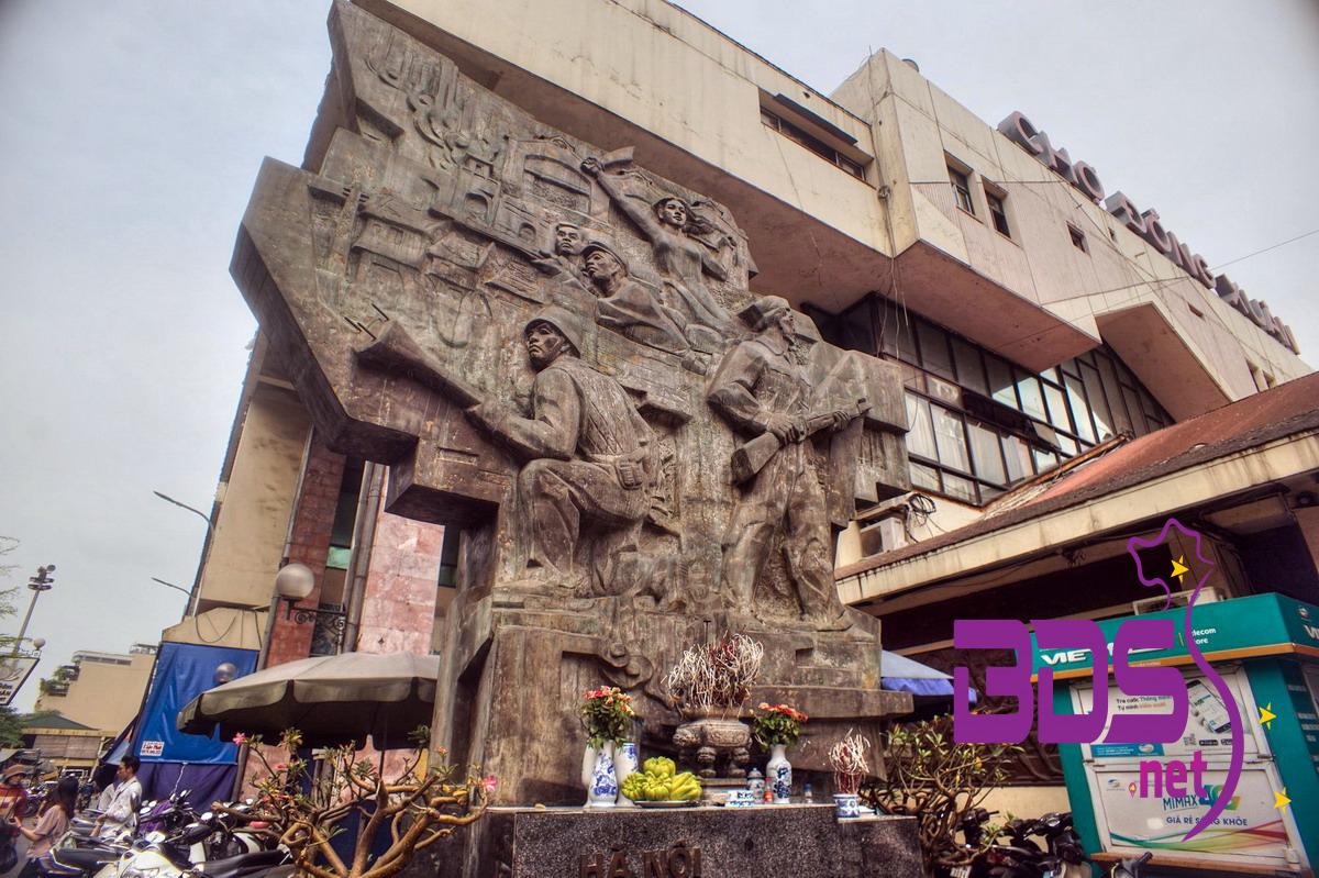 Đại tưởng niệm tại chợ Đồng Xuân