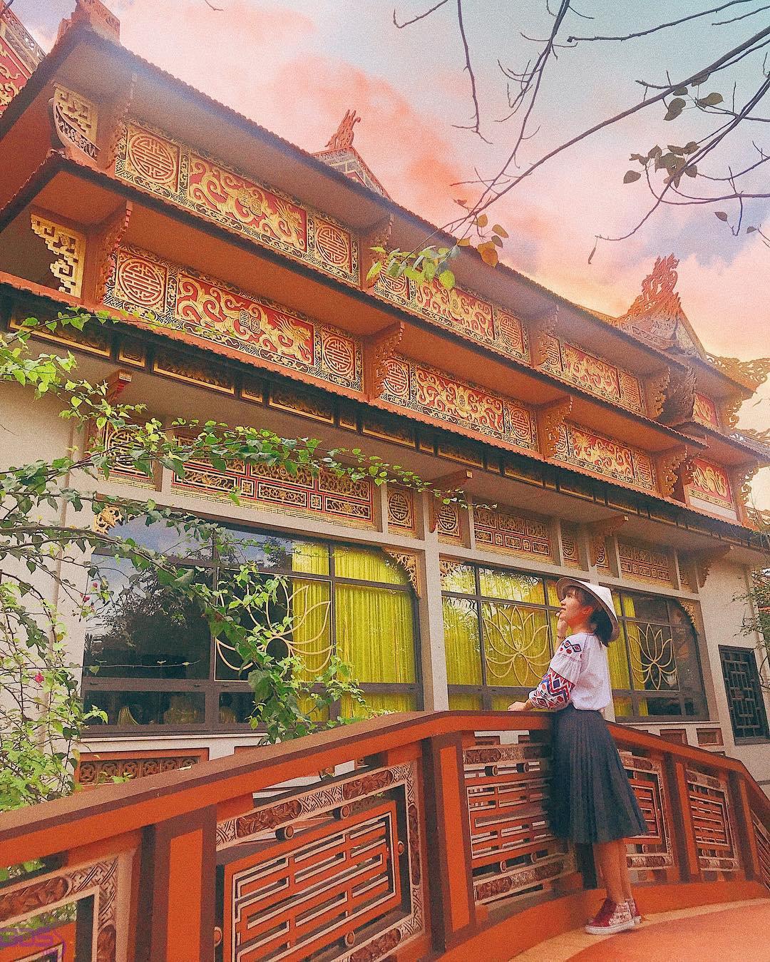Check in chùa Nam Sơn