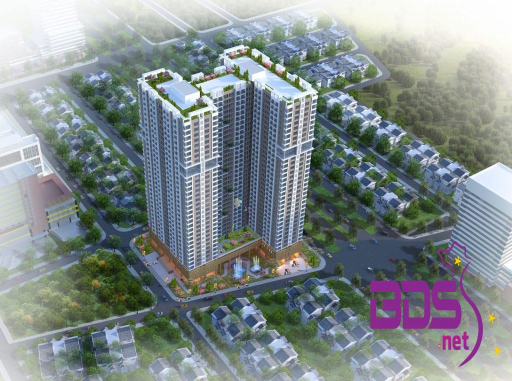 Chung cư Phú Thịnh Green Park - Công trình nhà ở hỗn hợp với tiện ích hiện đại vượt trội