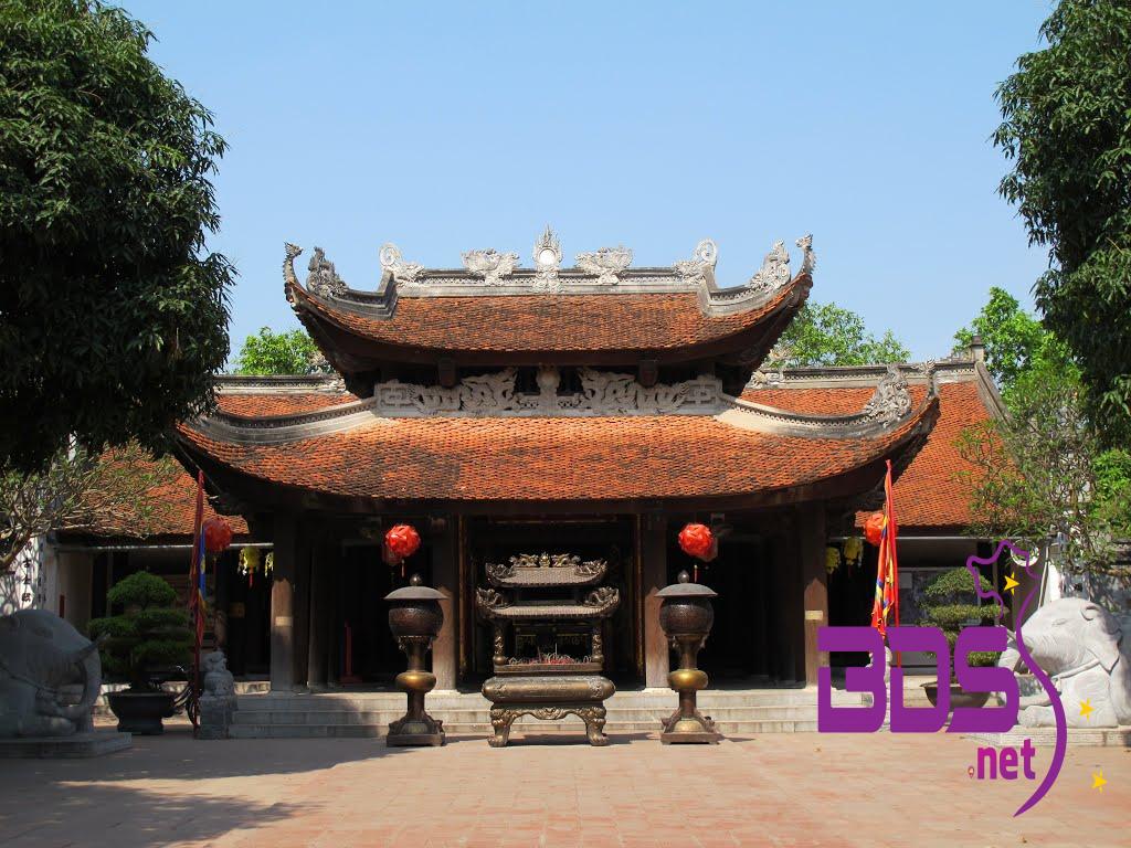Chính điện đền Đô