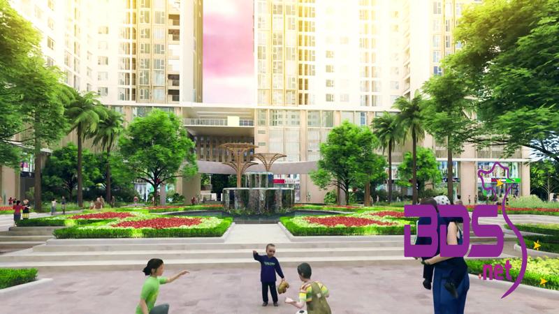 Công viên & trung tâm thương mại
