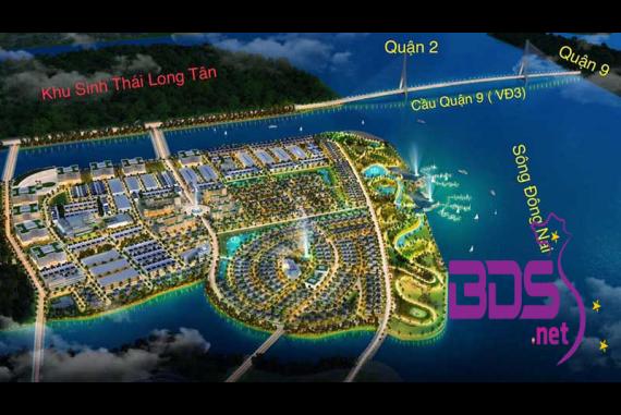 Riviera Villas - Khu đô thị sinh thái nằm gần khu Đông Sài Gòn