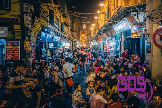 """Phố Bia Tạ Hiện - """"Thiên đường bia"""" giữa lòng phố cổ"""