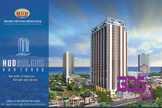 HUD Building - Căn hộ có không gian nhìn ra biển đẹp nhất tại Nha Trang