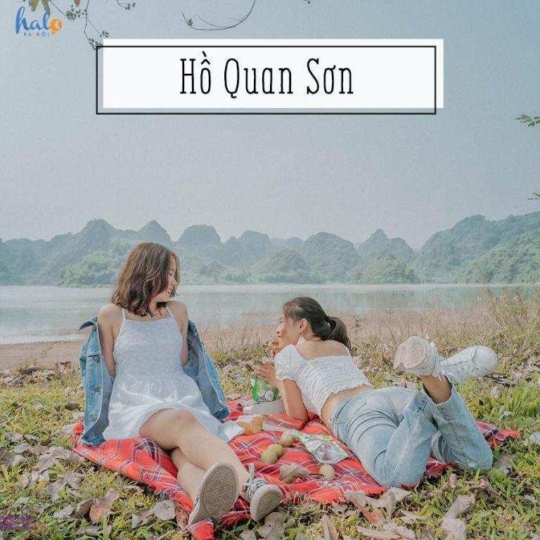 Khu Du Lịch Sinh Thái Hồ Quan Sơn (Hà Nội) - Vừa hùng vĩ, lại vừa nên thơ với cảnh núi non sơn thuỷ như hòa quyện làm một