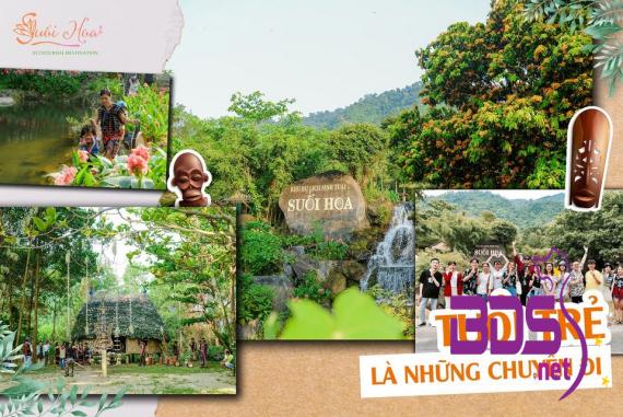 Khu Du Lịch Sinh Thái Suối Hoa - Điểm đến thu hút các hoạt động tập thể tại Đà Nẵng