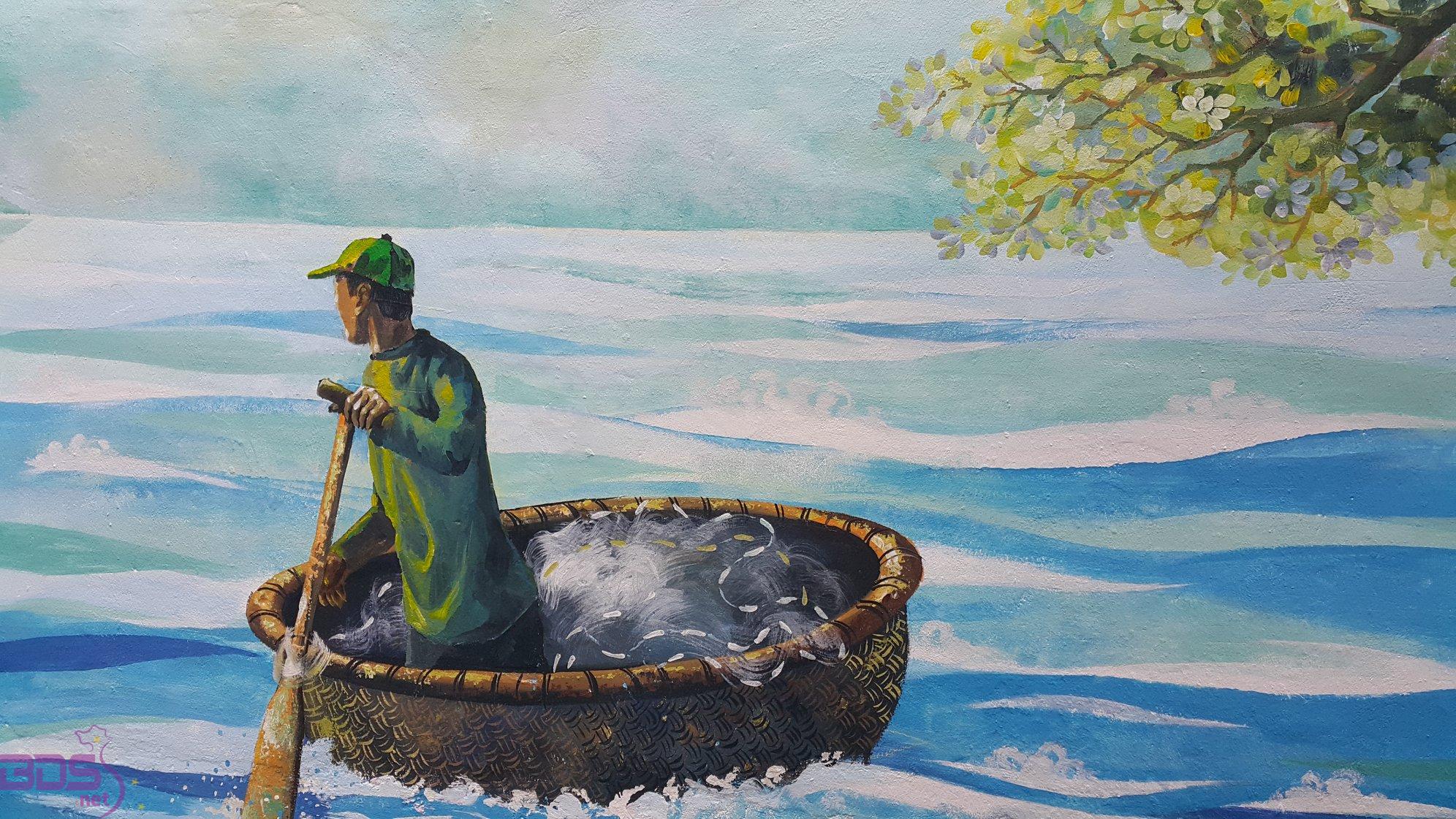 Hình ảnh người dân biển