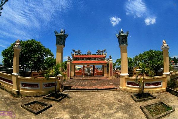 Một góc ngôi làng Phong Nam