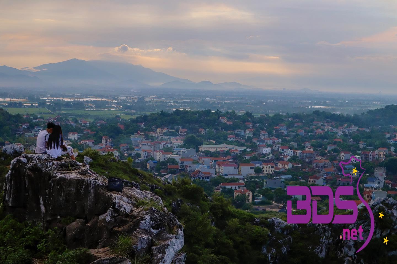 View từ núi Trầm