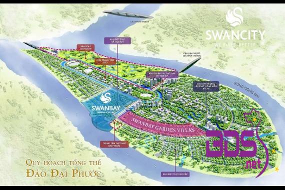 SwanBay La Maison - Khu biệt thự ven sông tại Đồng Nai