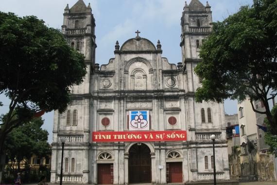 Nhà thờ Chánh tòa Bắc Ninh - Mang đậm lối kiến trúc Baroque độc đáo của Ý