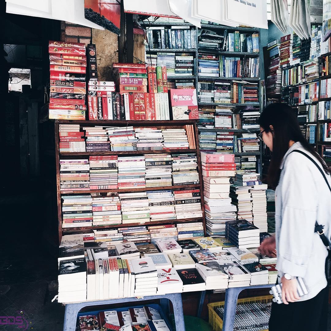 Đa dạng các loại sách
