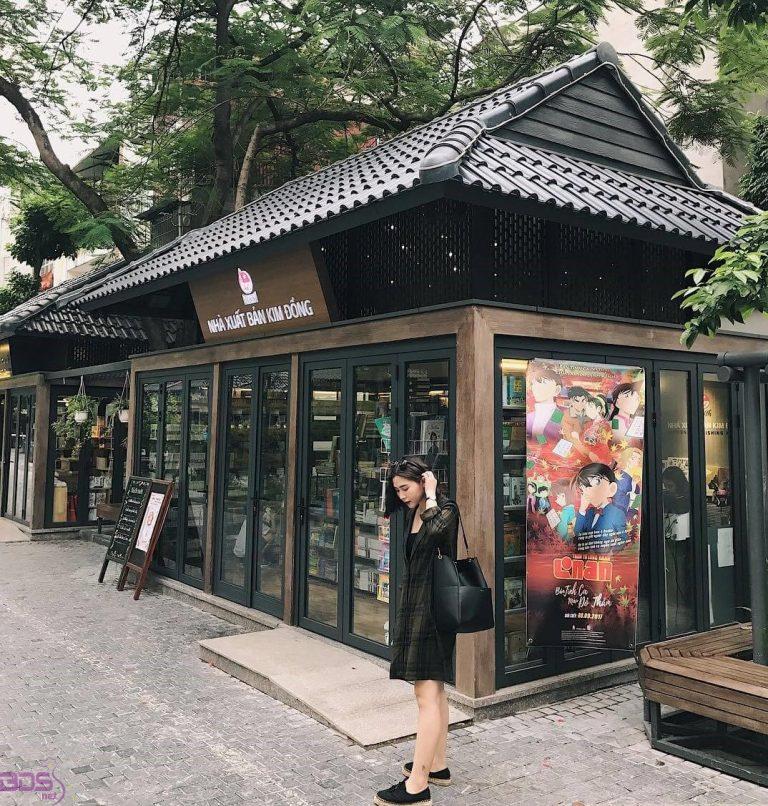 Check in phố sách Hà Nội
