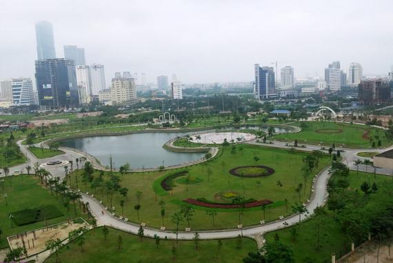Công viên Cầu Giấy Hà Nội - Tựa như khu rừng nhiệt đới điều hòa không khí thành phố nhộn nhịp, đông đúc